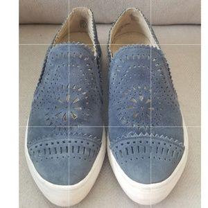Seychelles Wheelhouse Suede Slip On Sneakers 7.5